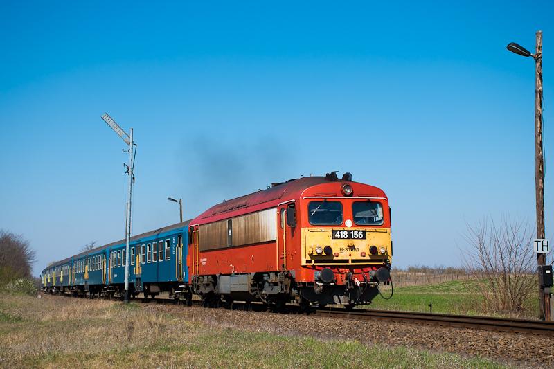A MÁV-START 418 156 Inárcs- fotó