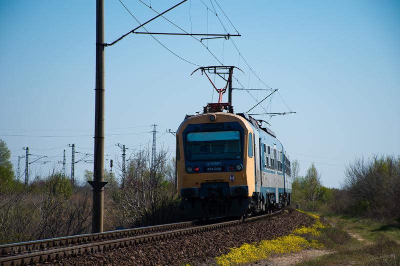 A MÁV-START 414 009 Dömsöd  fotó
