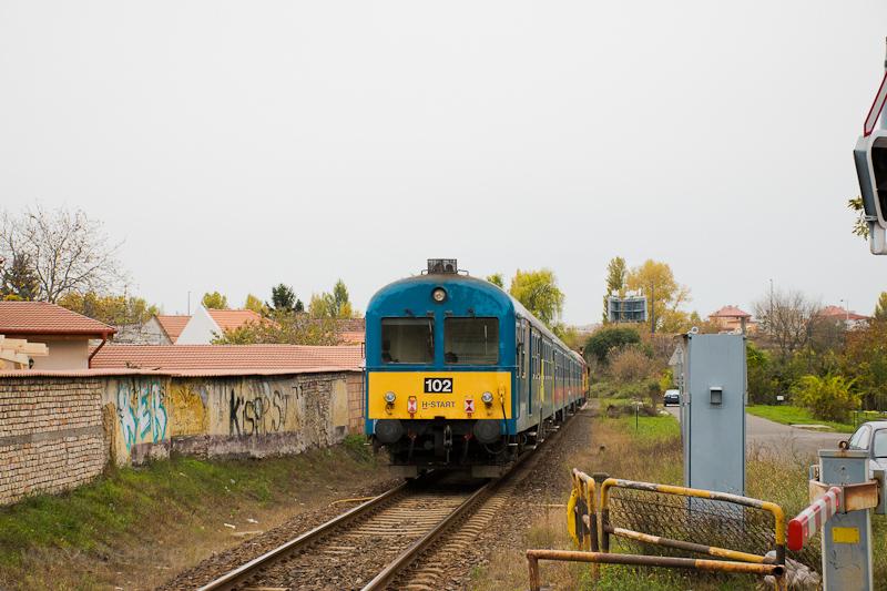 A MÁV-START BDt 102 Kispest fotó
