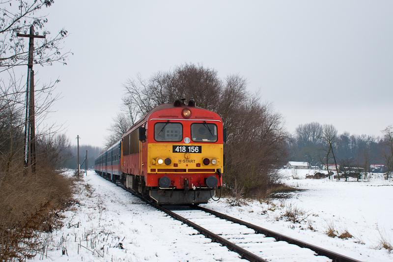 A MÁV-START 418 156 Ócsai s fotó
