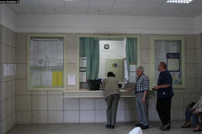 Berettyóújfalu váróterme fotó
