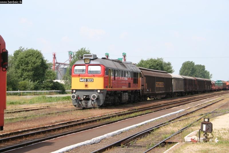 M62 323 Berettyóújfaluról indul fotó