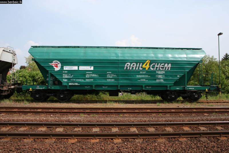 Gyönyörû Rail4Chem kocsi fotó