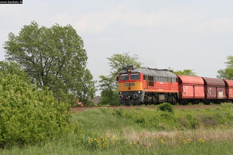 M62 323 Berettyóújfalunál fotó