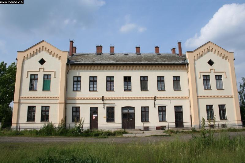 Sáp állomás gyönyörû épülete a magyar vasút legszebb korából fotó