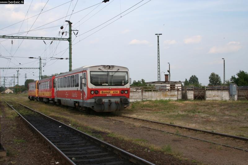 Bzmot 414 Püspökladány állomáson fotó
