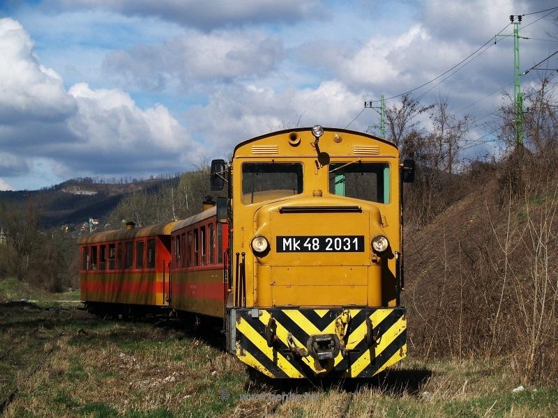 Mk48 2031 Verőce felső kitérőnél fotó
