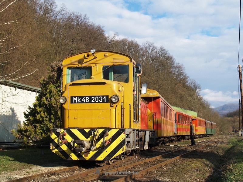 Mk48 2031 Paphegy üzemi pályaudvaron fotó