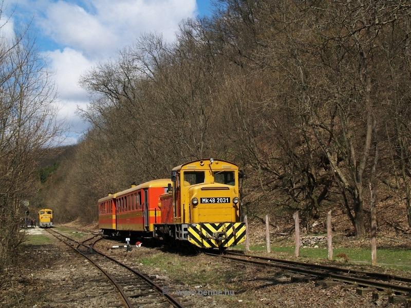 Mk48 2031 és Mk48 2014 Királyréten az  Utolsó Színpompás Vonattal  fotó