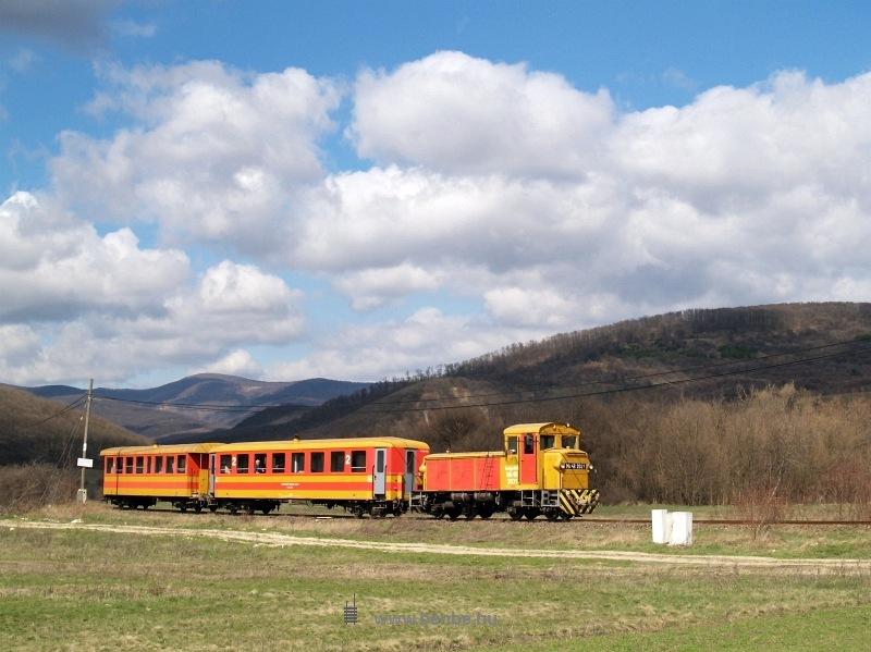 The Mk48 2031 between Paphegy and Szokolya photo