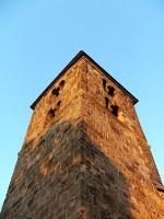 A nagybörzsönyi Szent István-templom tornya