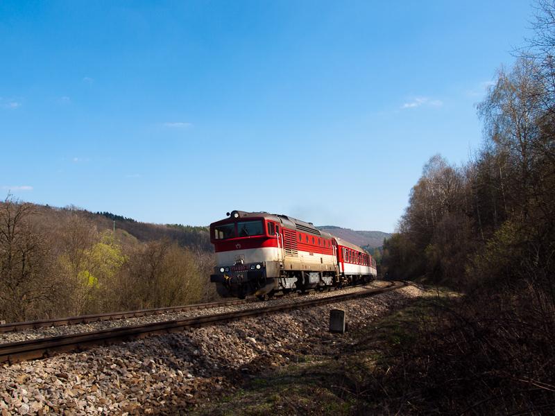 A ŽSSK 754 033-9 Fűrész és Podkriváň között fotó