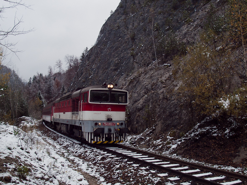 The ŽSSK 754 053-7 see photo