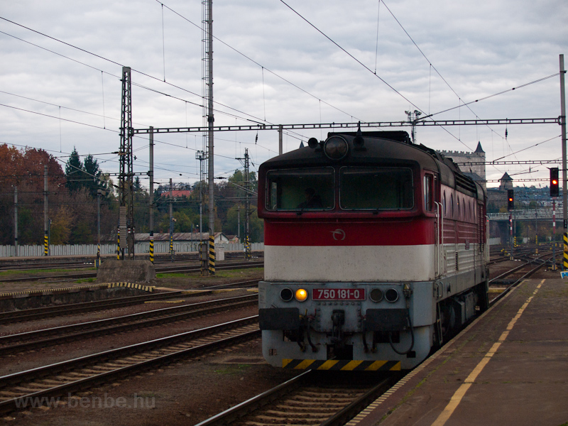 The ŽSSK 750 181-0 see photo