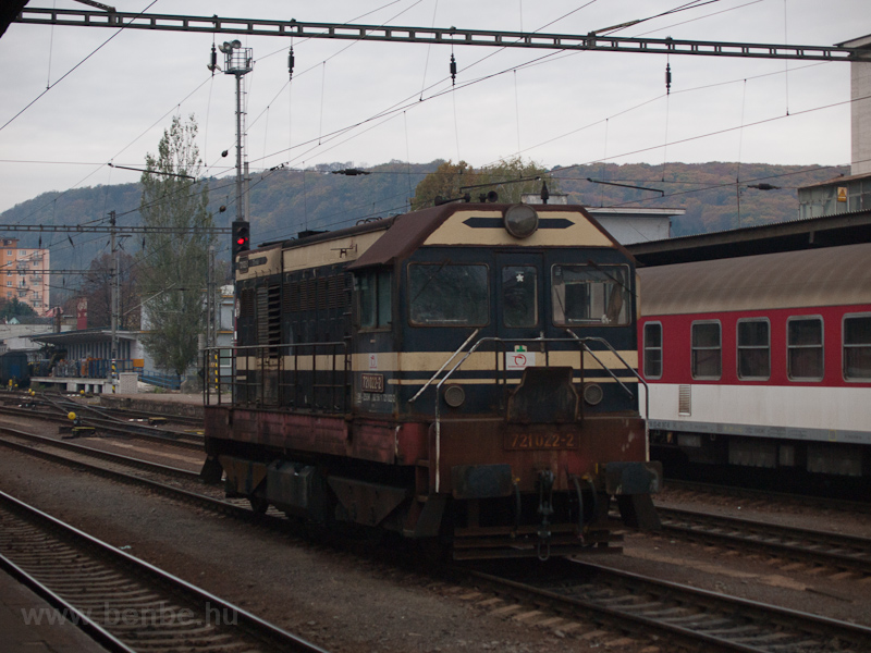 The ŽSSK 721 022-2 see photo