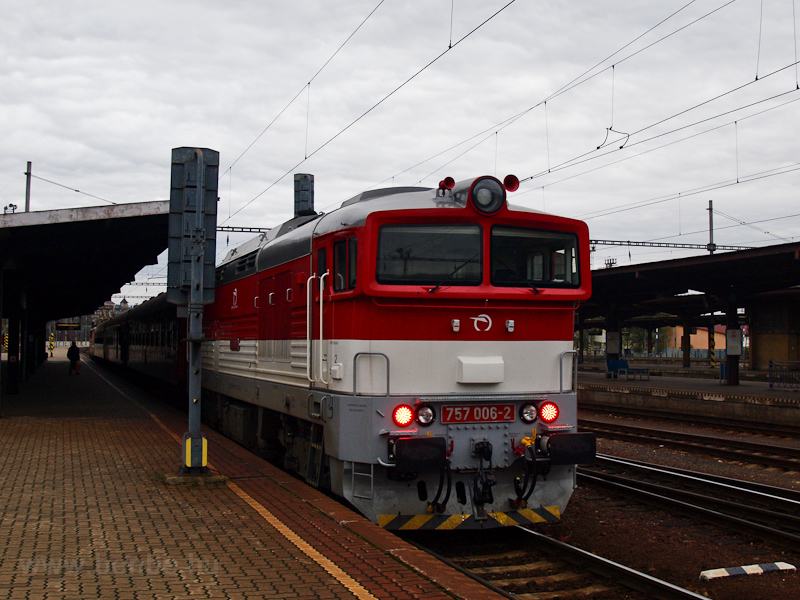 The ŽSSK 757 006-2 see photo