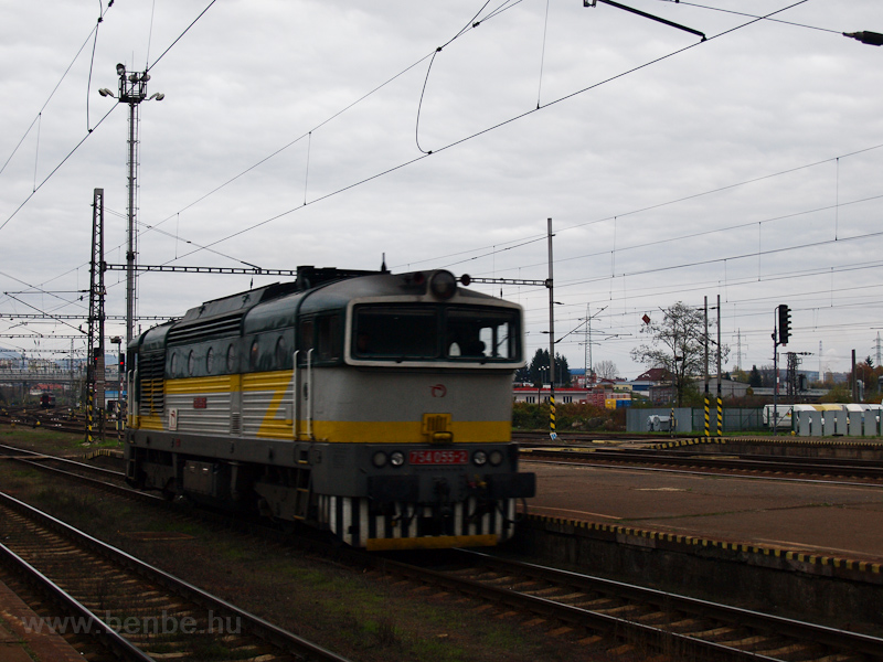The ŽSSK 754 055-2 see photo