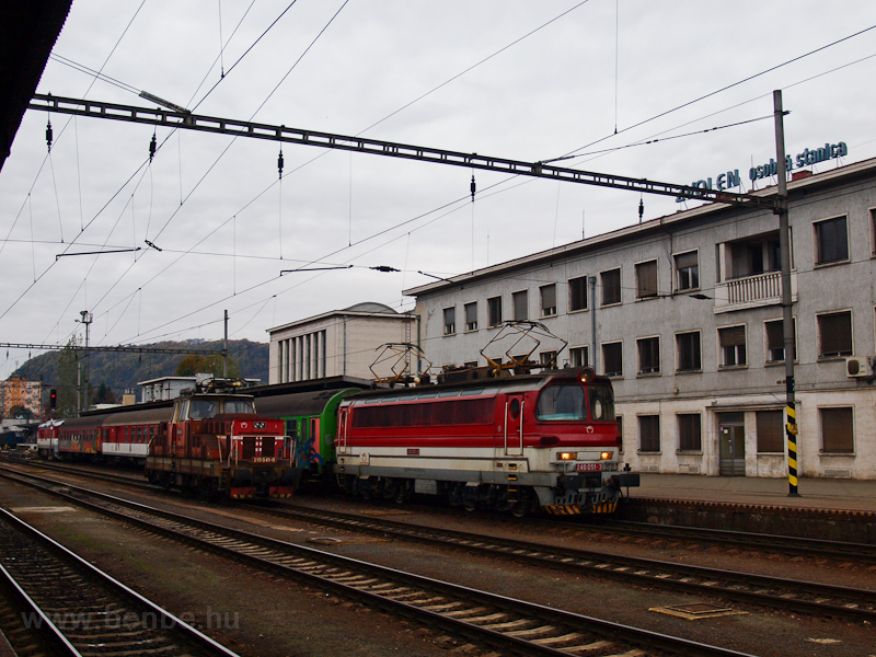 The ŽSSK 240 051-3 and photo