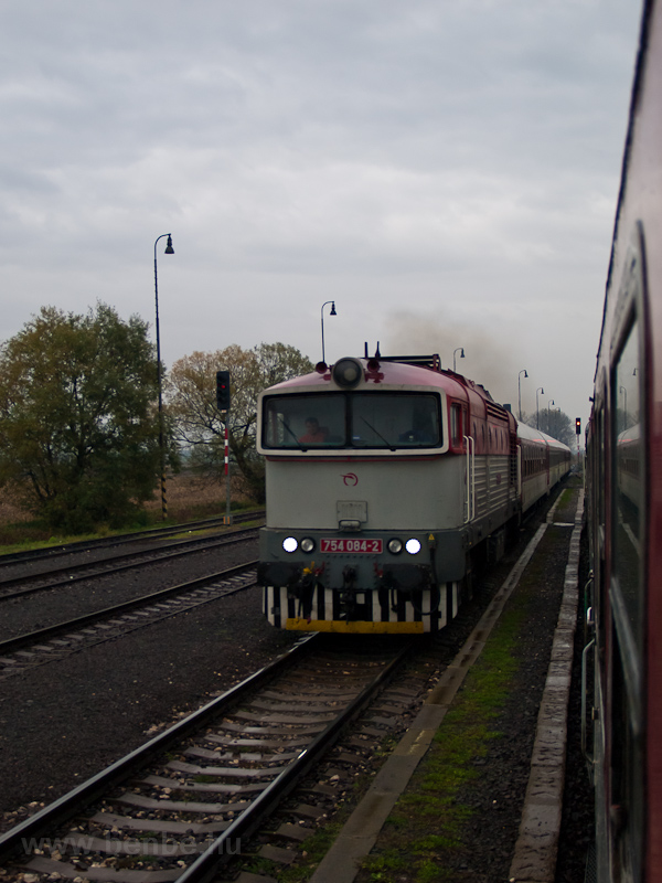 The ŽSSK 754 084-2 see photo