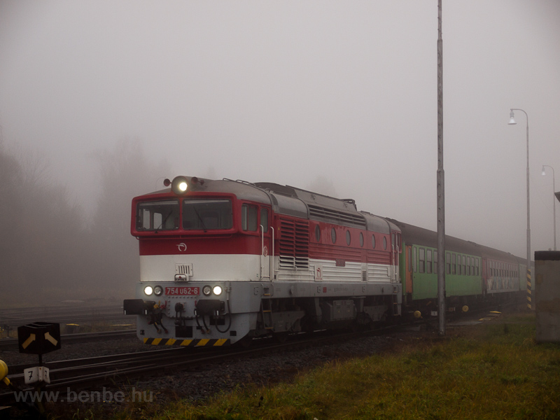 The ŽSSK 754 082-6 see photo