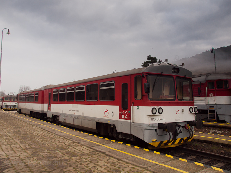 The ŽSSK 813 004-3 see photo