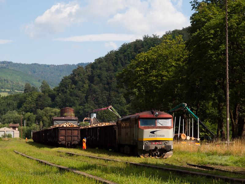 A ŽSSKC 751 173-6 Dobsina állomáson fotó