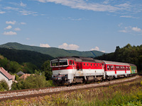 A ŽSSK 754  036-2 Fűrész és Podkriváň között