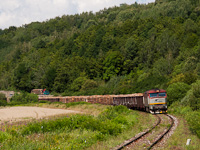 The ŽSSK 751 173-6 seen between Henckovce and Gemerska Poloma