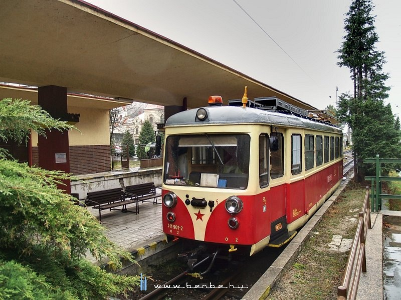 Trencsénteplicz (Trencianske Teplice) állomás fotó