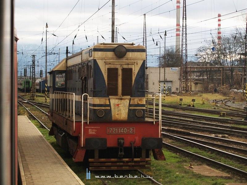 721 140-2 Zsolnán fotó