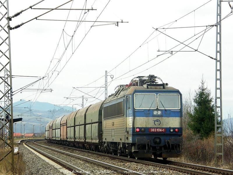 363 104-1 Kerpelényben (Krpelanyban) fotó