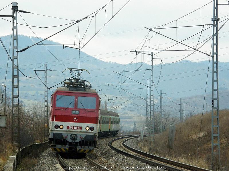 163 111-8 Kerpelényben (Krpelanyban) fotó