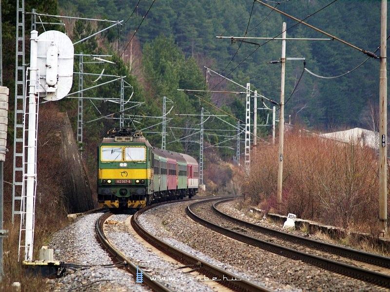 A ZSSK 162 007-9 Kerpelény és Ratkó-Suttó között fotó