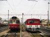 850 018-3 és 811 001-7 Hõlak (Trencianska Teplá) állomáson