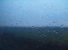 Kilátás a gyorsvonatból valahol Tótmegyer környékén
