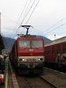 163 051-6 a Zsolna-Poprád személyvonattal Ruttkán