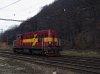 The 742 233-0 at Kralovany station