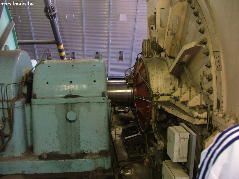 A turbinatengely fotó