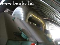 A kis és nagynyomású turbinák közötti gõzvezeték