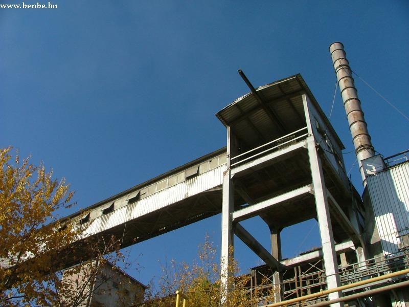 Szállítószalagok a Hejõcsabai Cementgyárban fotó