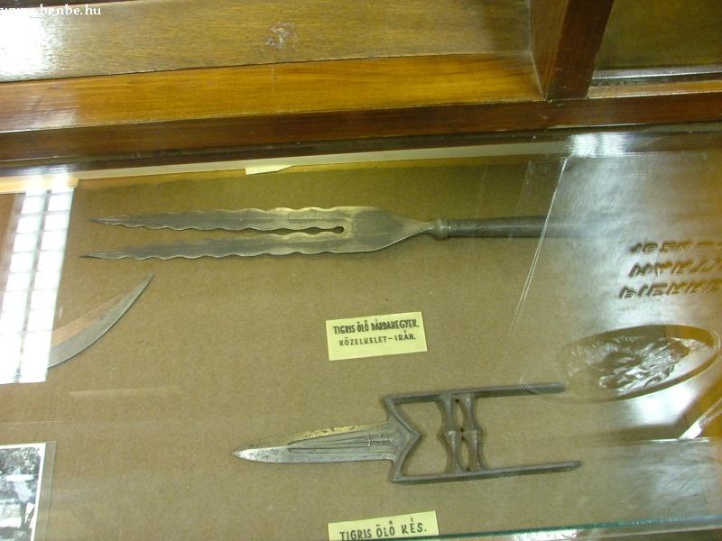 Dárdahegyek a lillafüredi Kohászati Múzeumban fotó