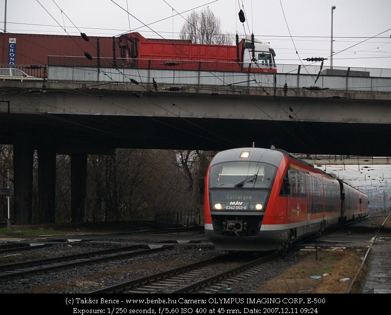 6342 002-0 Rákosrendezõre érkezik fotó