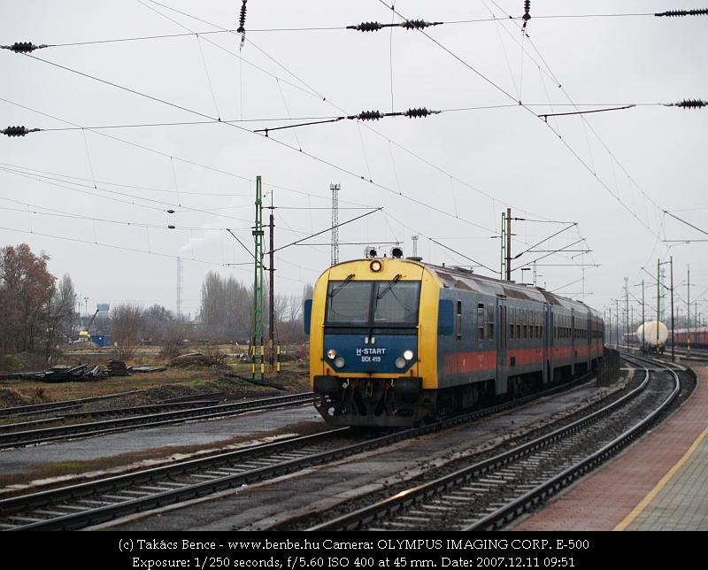 BDt 419 Rákosrendezõn fotó