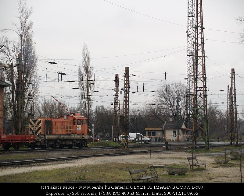 40 44 006 Rákosrendezõn fotó
