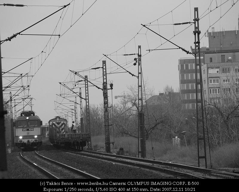 V43 1010 megy be elõször a Nyugatiba fotó