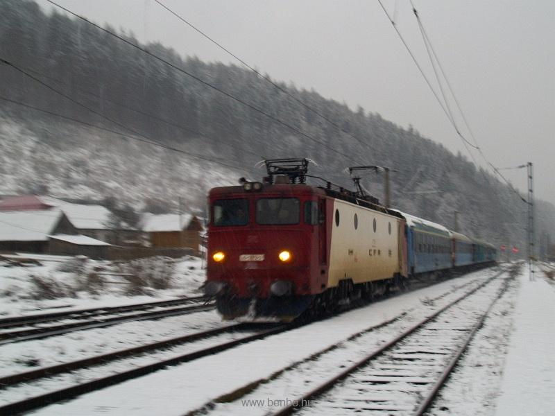 A CFR 40-0879-3 pályaszámú, szép piros ASEÁ-ja Palotailván fotó
