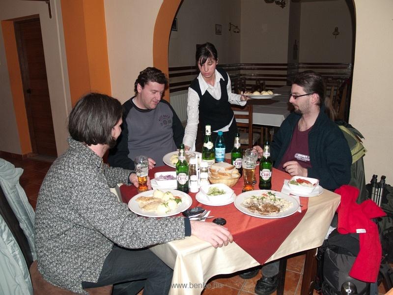 Vacsora Maroshévízen fotó