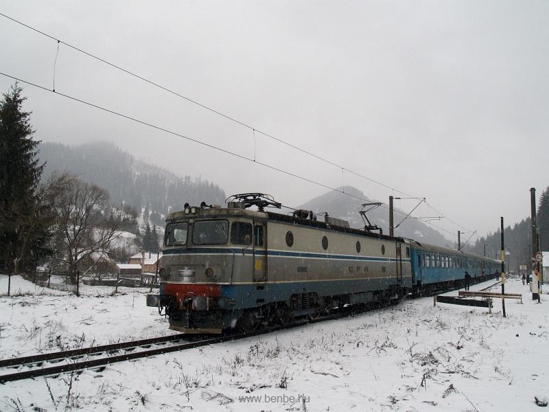 A CFR 40-0188-8 pályaszámú Hatlábúja Nyágra megszűnt állomáson fotó
