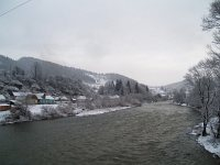 The Maros (Mures) river near Palotailva (Lunca Bradului, Romania)