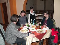 Dinner at Marosh�v�z (Toplita, Romania)
